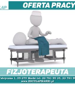 Oferta Pracy – Fizjoterapeuta