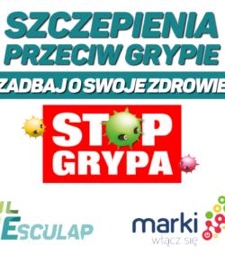 Darmowe Szczepienia przeciwko grypie dla mieszkańców Marek 60+